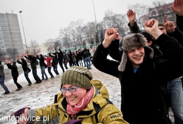 Gliwicki flashmob